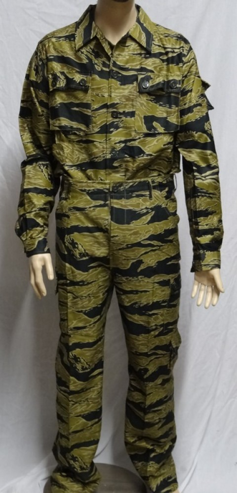 Advisor Sparse Tiger Stripe Pants Gold