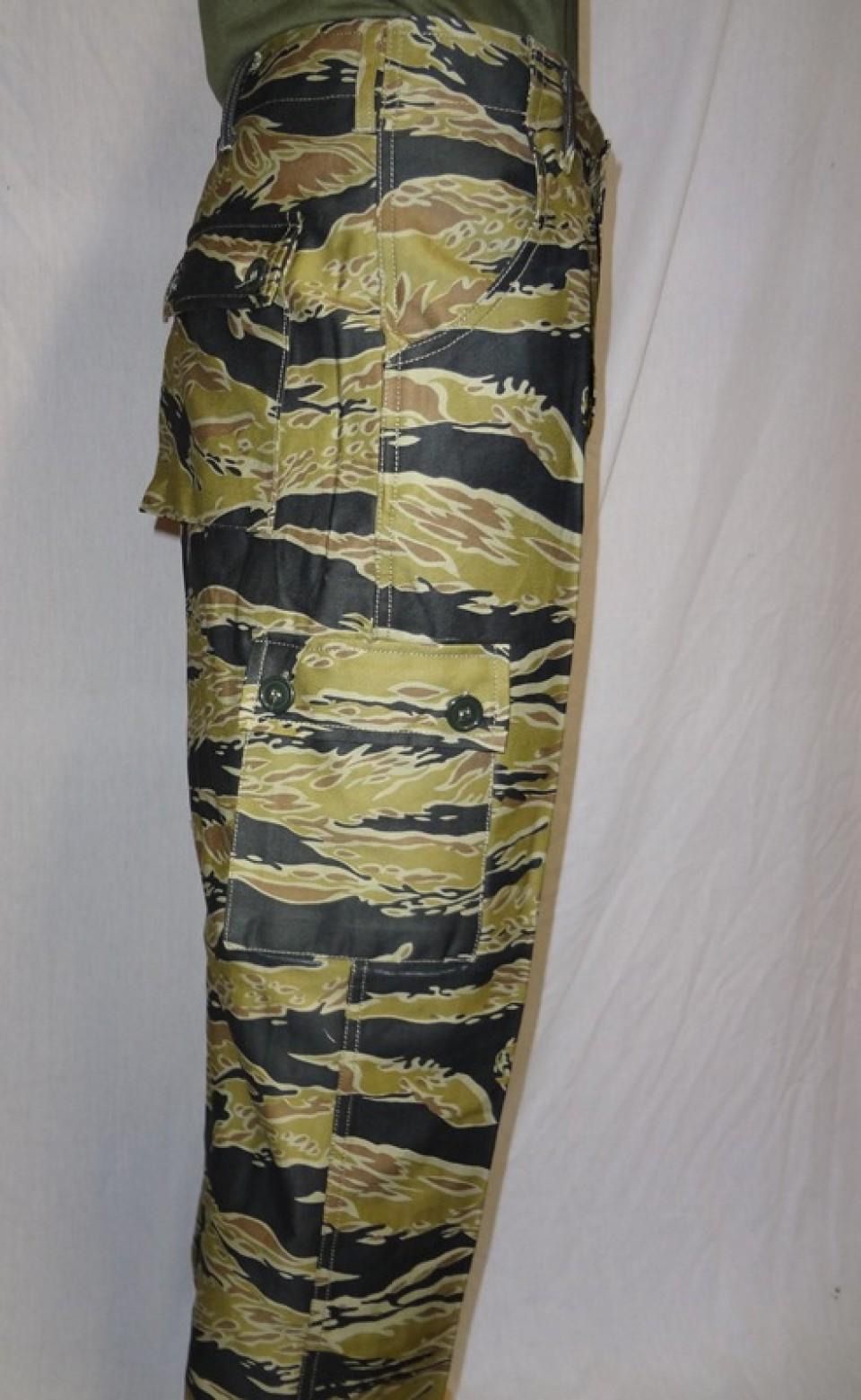 Advisor Sparse Tiger Stripe Pants (Gold) 2f945d8a92f