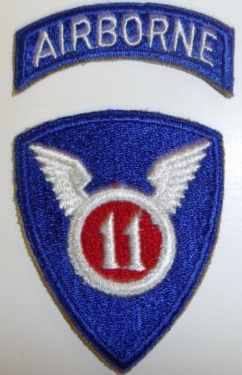 11th Airborne Division, Color, Cut-Edge
