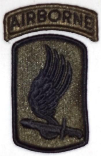 173rd. Airborne Brigade, Subd.