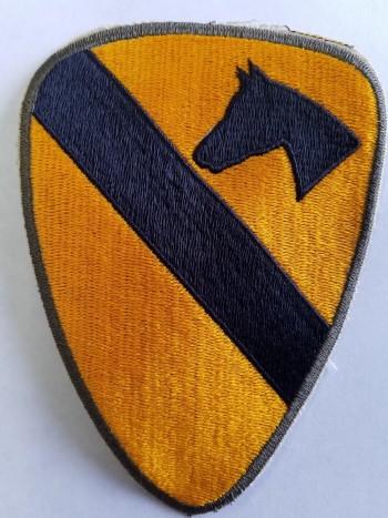1st Cavalry Division, Color, Cut-Edge