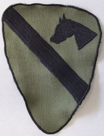 1st Cavalry Division, Subd. Twill (Incountry Style)