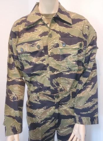 John Wayne Dense Tiger Stripe Shirt