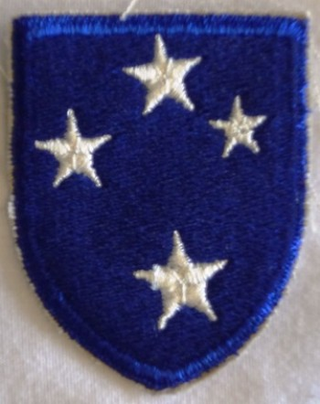 23rd. Infantry Division, Color, Cut-Edge