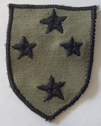23rd Infantry Division, Subd. Twill (Incountry Style)