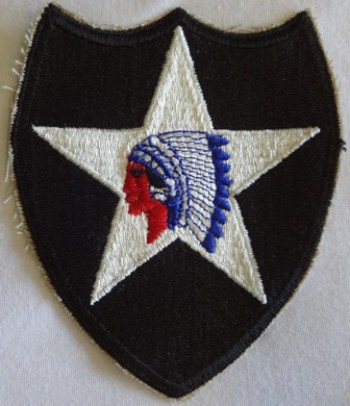 2nd. Infantry Division, Color, Cut-Edge