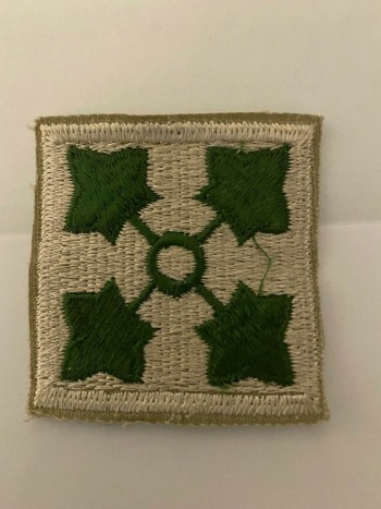 4th Infantry Division, Color, Cut-Edge