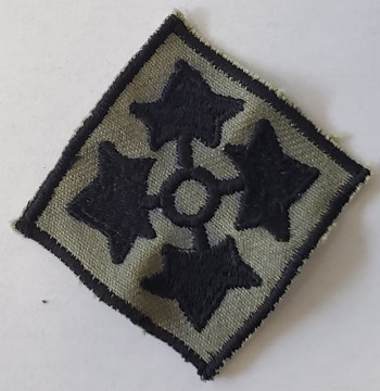 4th Infantry Division, Subd. Twill (Incountry Style)