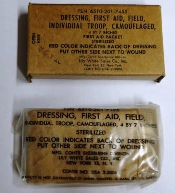 1st Aid Dressing (Bandage), 1960's