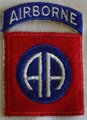 82nd. Airborne Division, Color, Cut-Edge