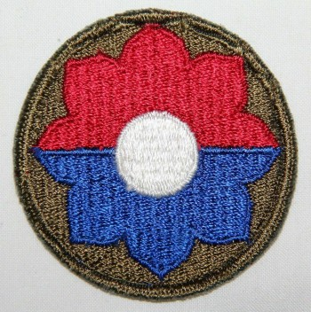 9th Infantry Division, Color, Cut-Edge