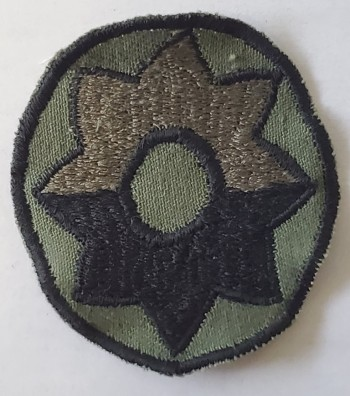 9th Infantry Division, Subd. Twill (Incountry Style)