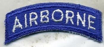Airborne Tab, Blue, Cut-Edge