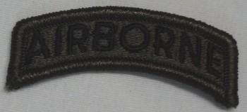 Airborne Tab, Standard, Subd.