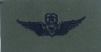 Army Aircraft Crewman Badge, Master. Subdued