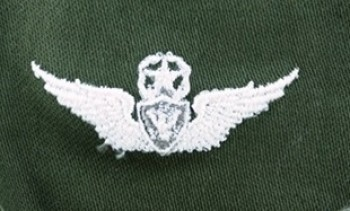 Army Aircraft Crewman Badge, Master. Color