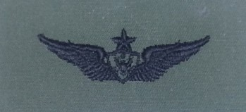 Army Aircraft Crewman Badge, Senior. Subdued