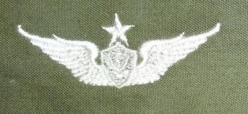 Army Aircraft Crewman Badge, Senior. Color
