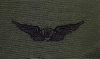 Army Aircraft Crewman Badge. Subdued.