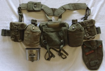 US Army Basic Field Gear Package, VG