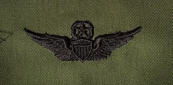 Army Aviator Badge, Master. Subdued.