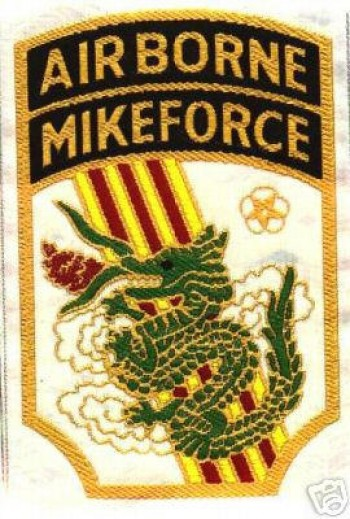 C-4 Mike Force. Woven.