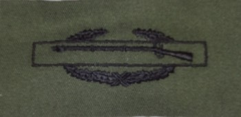 Combat Infantryman's Badge, CIB, Subdued