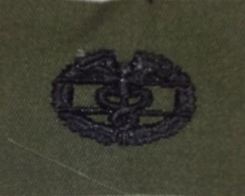 Combat Medic Badge. Subdued.