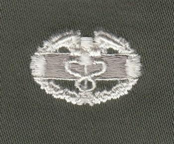Combat Medic Badge, Color