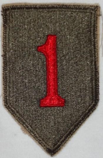 1st Infantry Division, Color, Cut-Edge