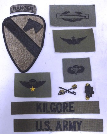 Lt. Col. Kilgore Insignia Package