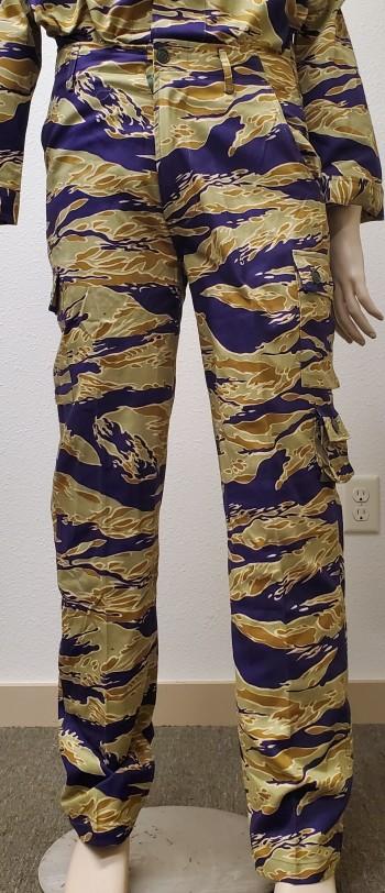 Advisor Sparse Tiger Stripe Pants (Gold)