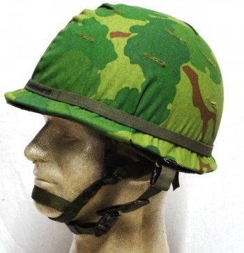 M-1C Airborne Helmet, Complete, VN
