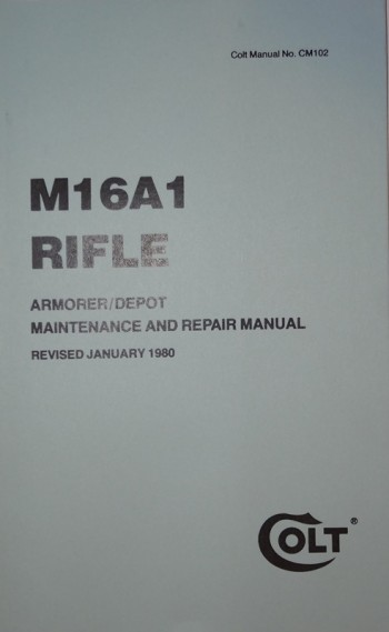 M16A1 Rifle Armorer / Depot Maintenance and Repair