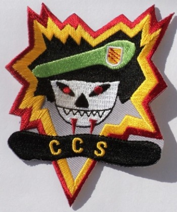 MACV-SOG, CCS. Embroidered, Color.