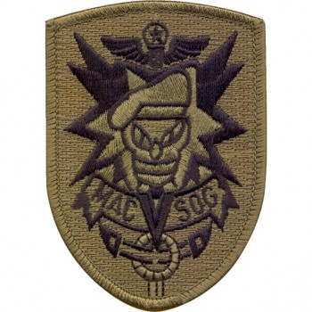 MACV-SOG, Embroidered, Subd