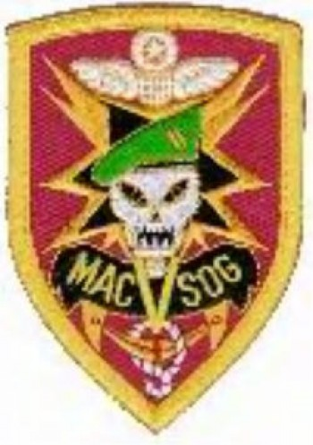 MACV-SOG, Embroidered, Color.