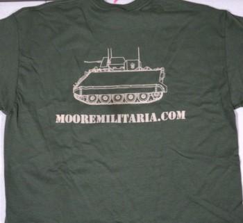 Moore Militaria Tee, OD