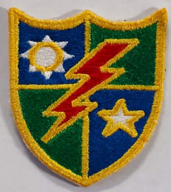 75th Ranger Beret Flash.