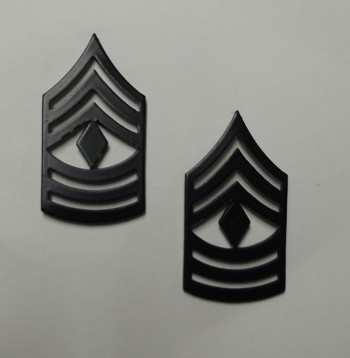 First Sergeant, Pin-On Subd