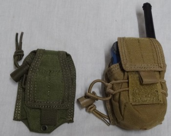 Radio Pouch, Hand Held, OD or Tan