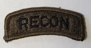 Recon Tab, Standard, Subd.