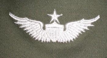Army Aviator Qual Badge, Senior. Color