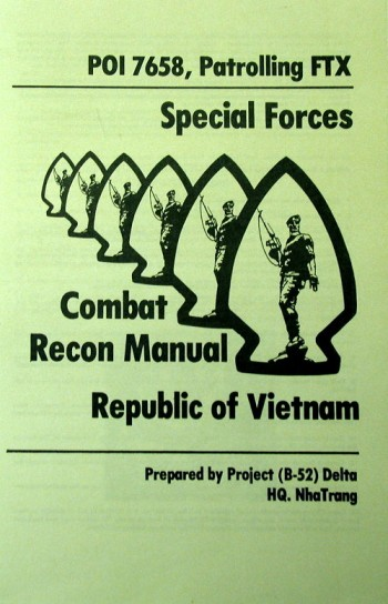 POI 7658, Patrolling FTX: Special Forces Combat Recon Manual