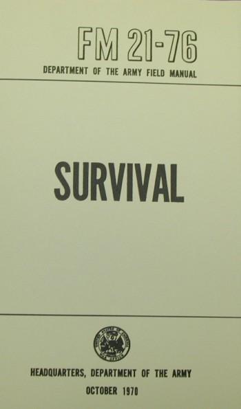 FM 21-76: Survival