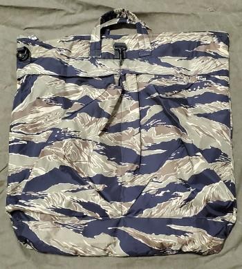 Tiger Stripe Flight Helmet Bag