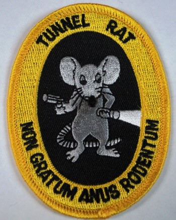 Tunnel Rat Patch.