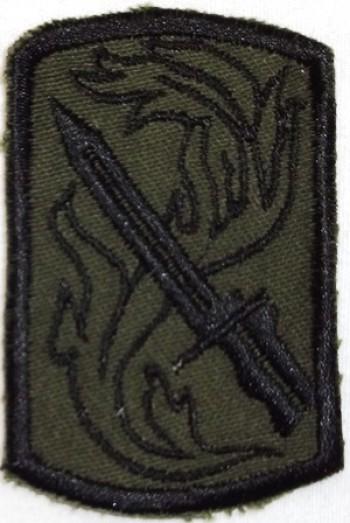 198th. Infantry (Light) Brigade, Subd. Twill