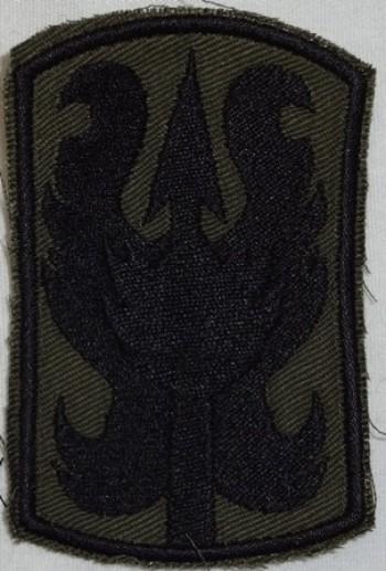 199th. Infantry (Light) Brigade, Subd. Twill