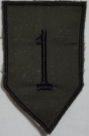 1st. Infantry Division, Subd. Twill